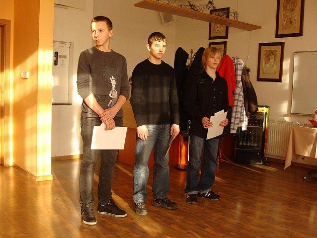 Ocenění mladí sportovci Karvinska do 15 let.