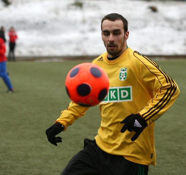 Vladimír Mišinský dal v přípravě další dva góly, je už nejlepším střelcem týmu.