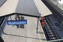 Vlakové nádraží v Bohumíně
