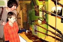 Expozice historických loveckých zbraní