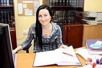 Lucie Malyszová pracuje na novém kontaktním místě Czech Point na magistrátu.