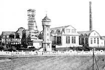 Pohled na Důl Pokrok kolem roku 1920