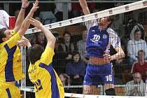 Volejbalisté Havířova svedli s lídrem soutěže naprosto vyrovnanou bitvu.