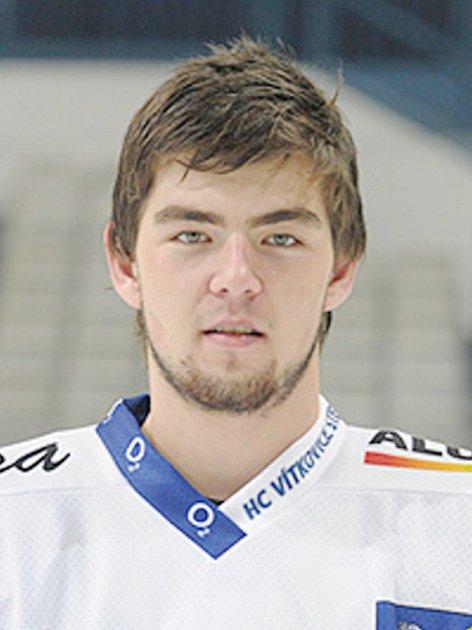 Roman Szturc, hokejista Vítkovic.