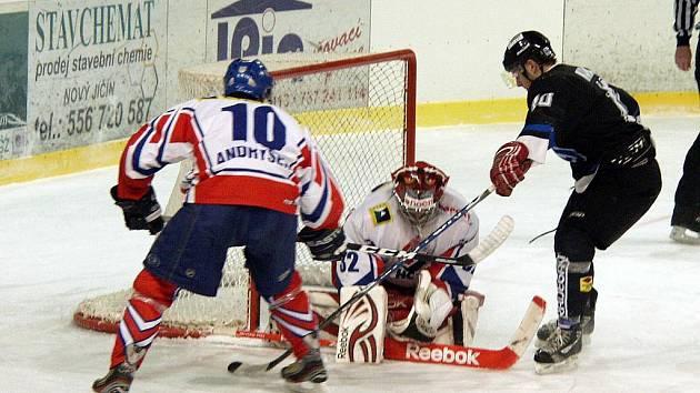 Hokejisté Havířova neuspěli v Novém Jičíně.