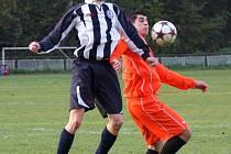Fotbalisté Horní Suché zabrali a vyhráli stěžejní zápas v Šenově.