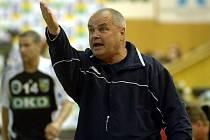 Trenér Zubří Ivan Hargaš je temperamentní kouč.