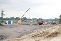 Stavba dálnice v Bohumíně