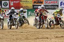 Závěrečným motokrosovým podnikem v Petrovicích byl závod seriálu Mistrovství Moravy a Slezska.