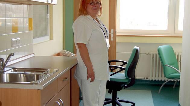 Ve zrekonstruovaných prostorách přibude i hezké zázemí pra zdravotní sestry.