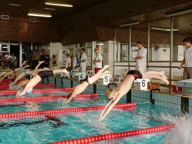 V Karviné proběhly oblastní přebory mladšího žactva v plavání.