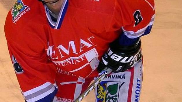 Tomáš Vaštík dal v posledním utkání hned dva góly.