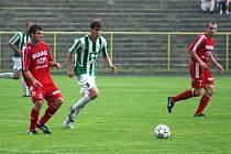 Karvinští hráči (v zelenobílém) vstoupili do jara vítězně.