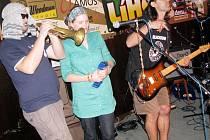 Jeden z účastníků Líhně - přerovská skupina D.U.B. music