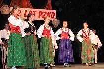 V programu vystoupil lidový soubor Watra z polského Černého Dunajce.