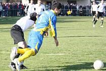 Fotbalisté Stonavy odmítli návrat do čela tabulky.