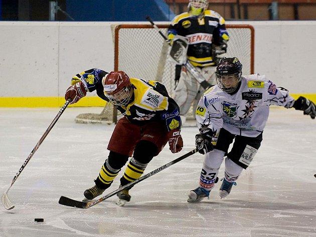 Hokejistky Karviné zdolaly houževnatý Litvínov až na samostatné nájezdy.