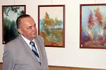 Ludvík Kroček představuje na své autorské výstavě výběr ze své bohaté tvorby.