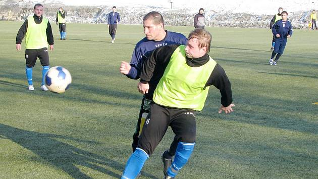 Fotbalisté Havířova pokračují v zimní příípravě.