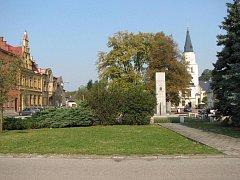 Bohumínské náměstí Svobody na snímku z října 2009.