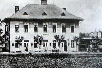 Původní podoba šenovské stanice.