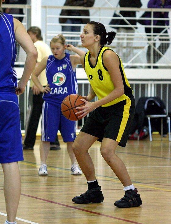 Jana Sadrievová byla střeleckou oporou Orlové v posledním dvoukole II. ligy.