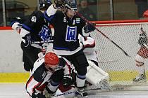 Hokejisté Havířova udrželi výhrou nad Frýdkem slavnostní ráz sobotního večera.