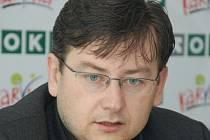 Předseda MFK OKD Karviná Jan Wolf.