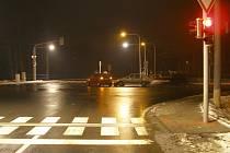 Nehoda na světelné křižovatce