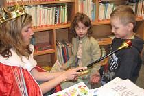 Pasování malých čtenářů