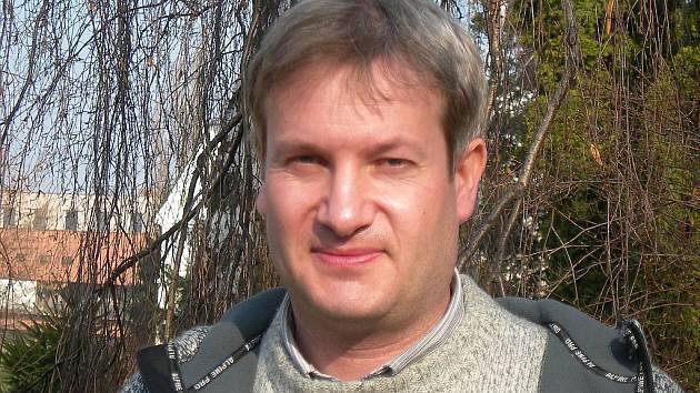Městský zahradník Tomáš Trampler