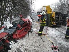 Tragická nehoda v Loukách