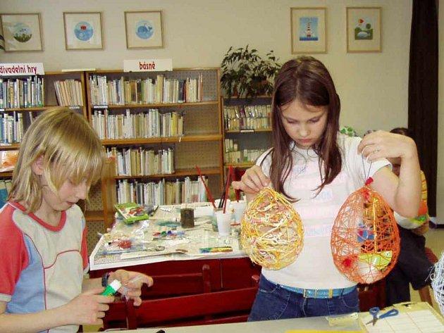 Městská knihovna v Havířově pořádá pro dětí různé kulturní akce, výstavy i tvůrčí dílny.