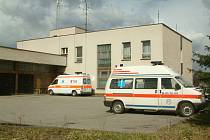 Sídlo záchranné služby v areálu havířovské nemocnice
