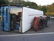 Cvičení integrovaného záchranného systému uzavřelo na několik hodin ostravskou část dálnice D 47 ve směru na Brno