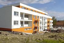 Nový bytový dům v Petřvaldu