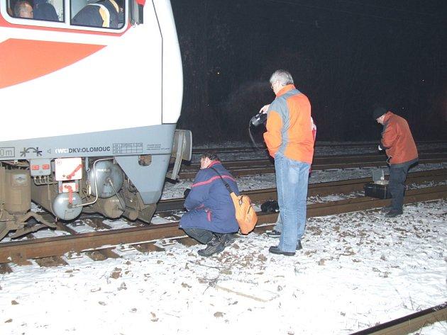 Vlak, který v Havířově usmrtil chlapce přecházejícího kolejiště. Nehodu vyšetřovali kriminalisté.