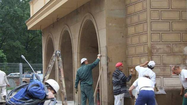 Rekonstrukce kina Radost finišuje.