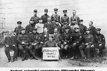 Vedení české vojenské organizace