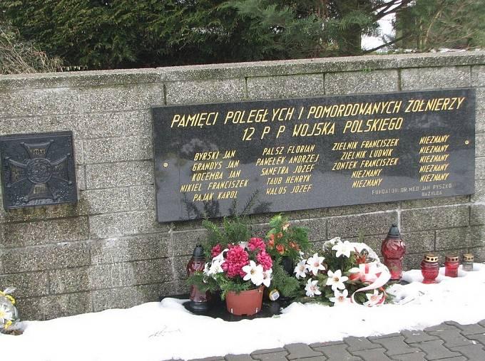 Památník polským obětem válečného konfliktu o území Těšínska ve Stonavě