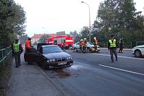 Nehoda na Dělnické ulici