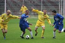 Orlovští fotbalisté utrpěli debakl s juniorkou Ostravy.
