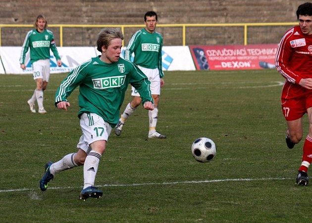 Ondřej Ficek (vlevo) se má hlásit v letní přípravě Baníku Ostrava.