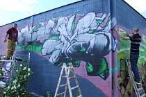 United colours graffiti jam v Havířově