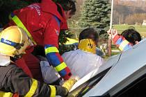 Nehoda v Těrlicku-Hradišti