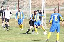 Fotbalisté Stonavy prováhali možnost jít do čela tabulky.