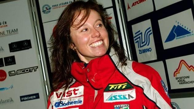 Eva Kurfürstová se může usmívat. Probíhající sezona je jedna z těch lepších, které zažívá.