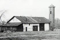 Původní hasičská zbrojnice v Životicích