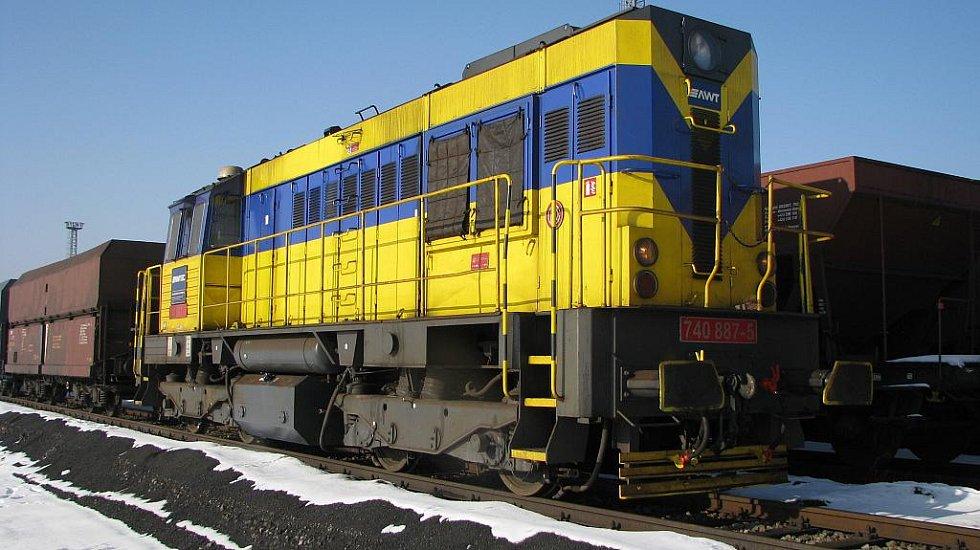 Nákladní vlaky přepravují na Ostravsku tisíce tun uhlí
