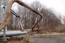 Zloději si troufnou s autogenem i na potrubí s plynem.